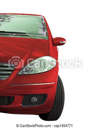 autó, piros - csp1454771