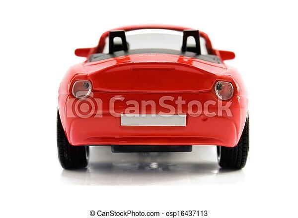 autó, piros - csp16437113
