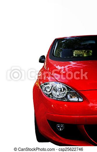 autó, piros - csp25622746
