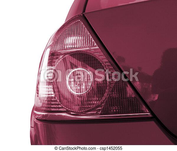 autó, piros - csp1452055