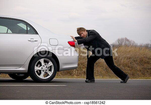 autó, rámenős - csp18561242