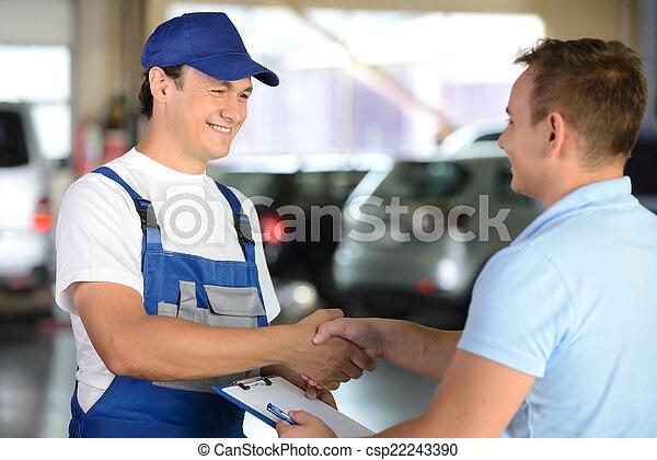 autó szolgáltatás - csp22243390