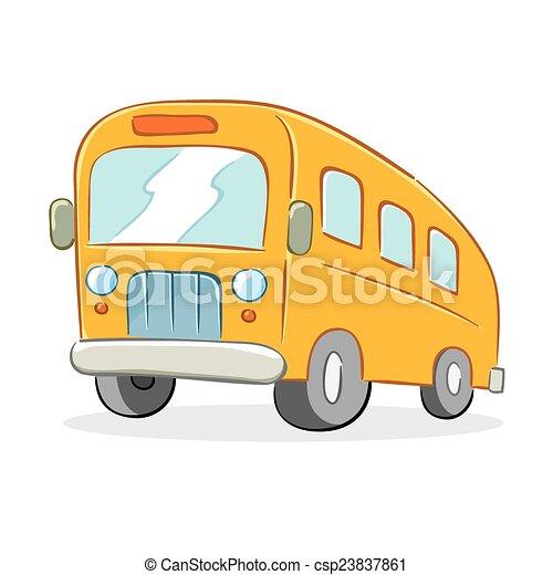 autóbusz, izbogis - csp23837861