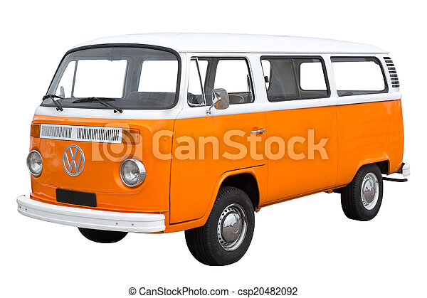 autóbusz, volkswagen - csp20482092