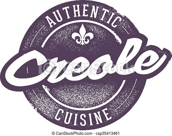 Authentic Creole Cooking - csp35413461
