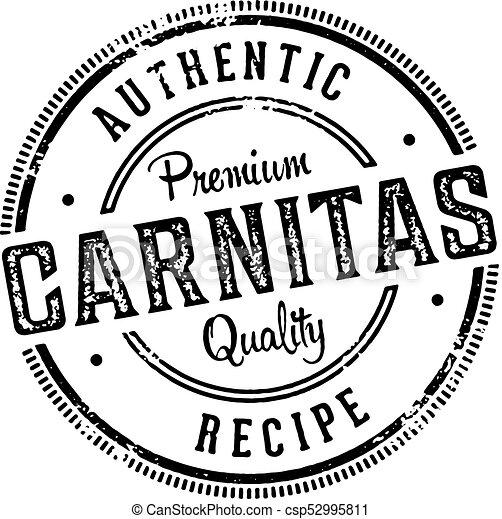Authentic Mexican Pork Carnitas - csp52995811
