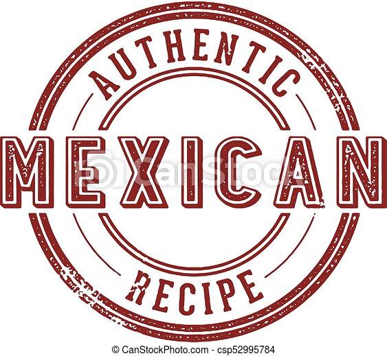 Authentic Mexican Recipe - csp52995784