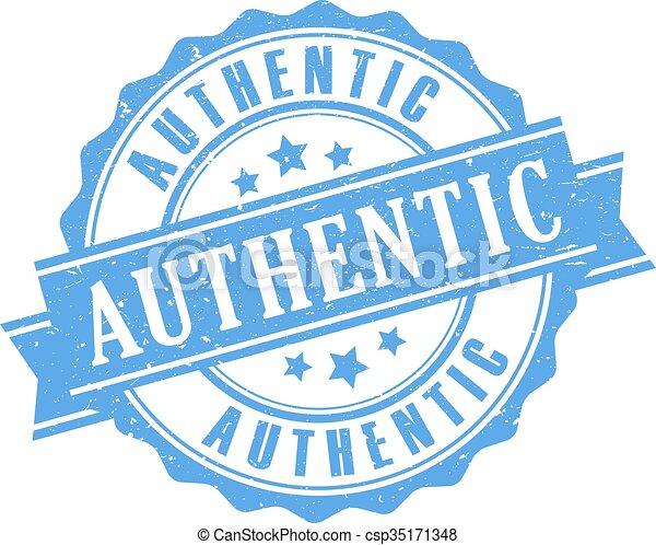 Authentic rubber stamp - csp35171348