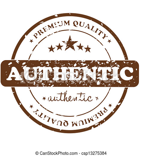 Authentic Stamp - csp13275384