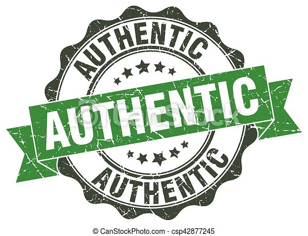 authentic stamp. sign. seal - csp42877245