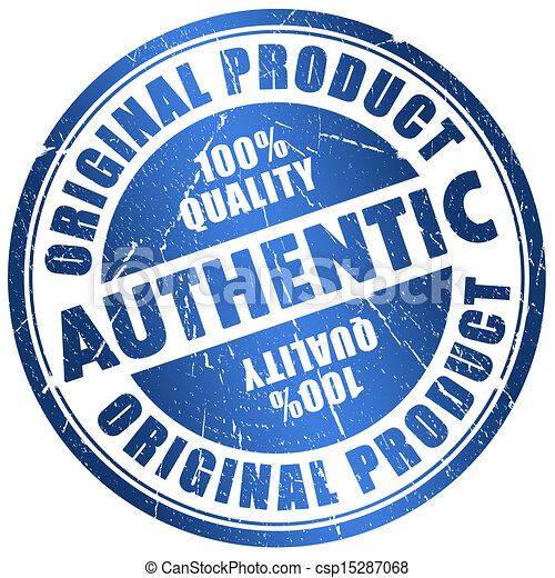 Authentic stamp - csp15287068