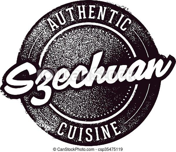 Authentic Szechuan Food - csp35475119