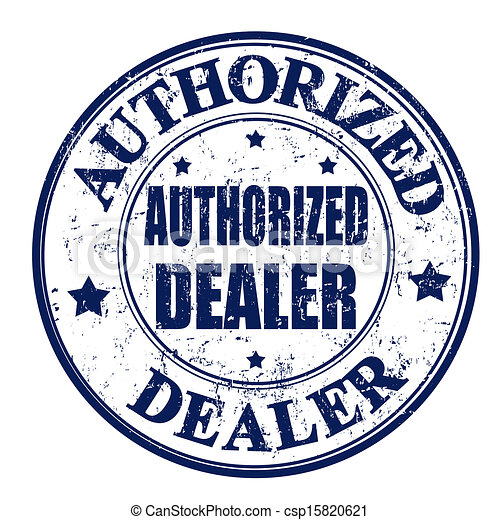 Authorized dealer stamp - csp15820621