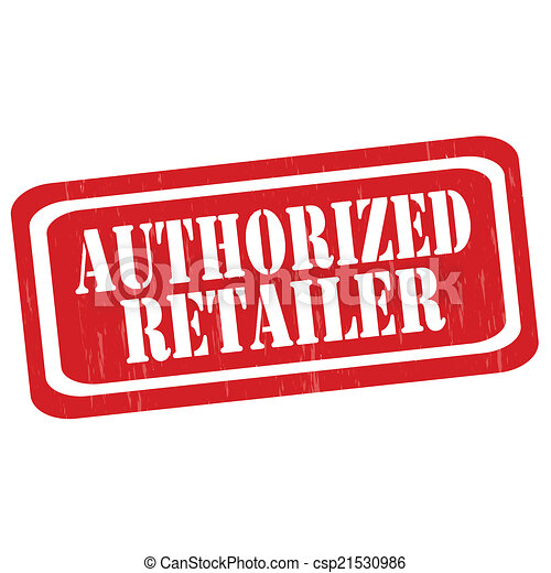 Authorized Retailer-stamp - csp21530986