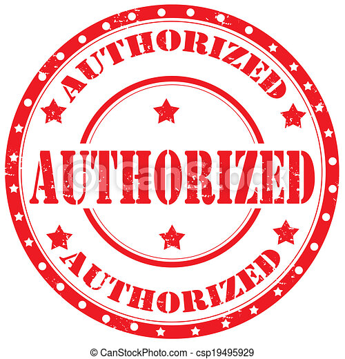 Authorized-stamp - csp19495929