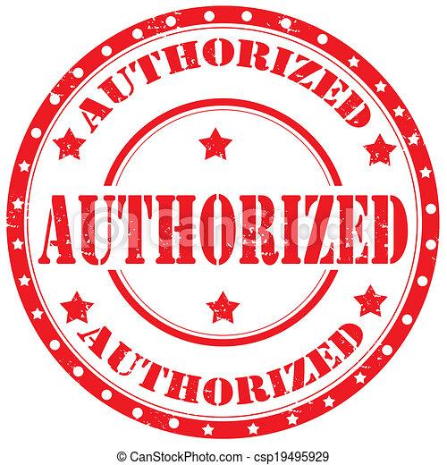 authorized-stamp - csp19495929