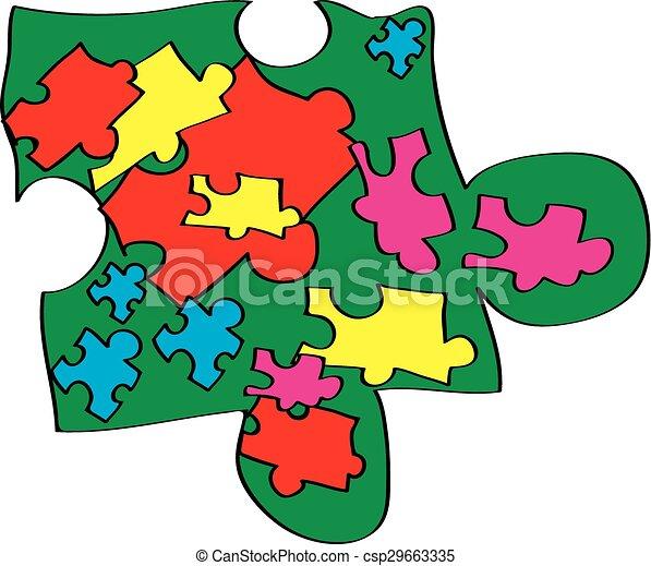 autism awareness symbol nate nicolas new design for autism rh canstockphoto com autism clipart bathroom routine autism clipart bathroom routine