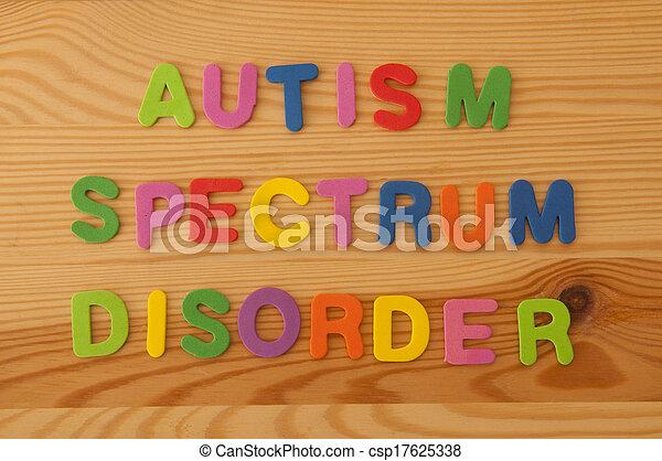 Autism Spectrum Disorder - csp17625338