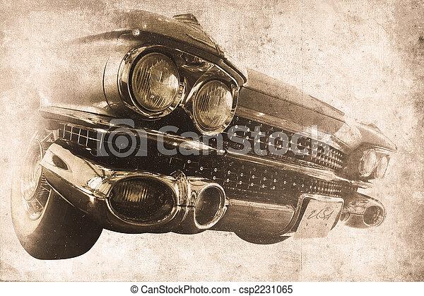 auto, altes  - csp2231065