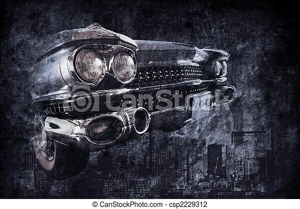 auto, altes  - csp2229312