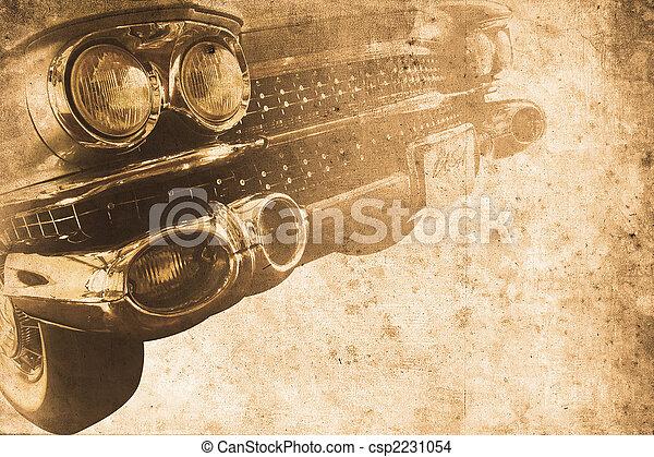 auto, altes  - csp2231054