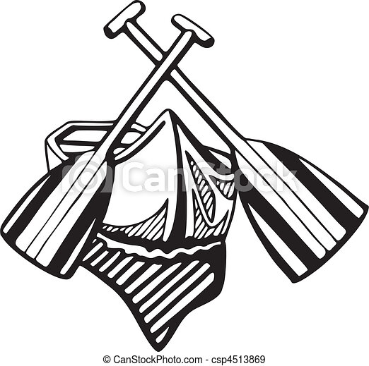 Canoe Paddle Clip Art Vector And Illustration 1889 Clipart EPS Images Available To Search From Thousands Of Royalty Free Stock