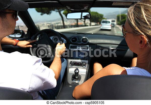 auto, bestuurder - csp5905105