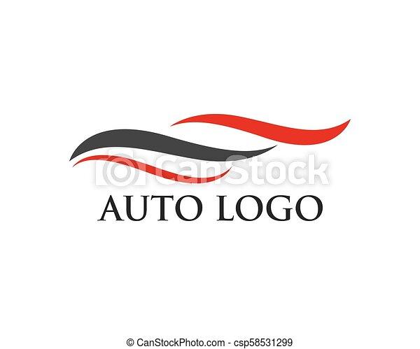 Auto car Logo Template - csp58531299