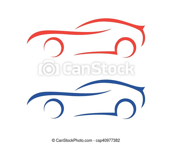 Auto car Logo Template - csp40977382