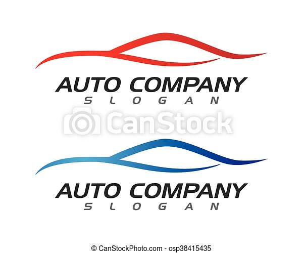 Auto car Logo Template - csp38415435
