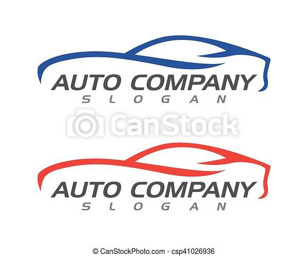 Auto car Logo Template - csp41026936
