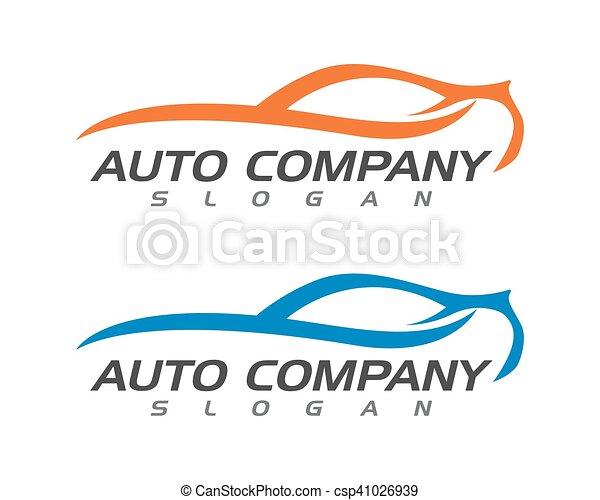 Auto car Logo Template - csp41026939