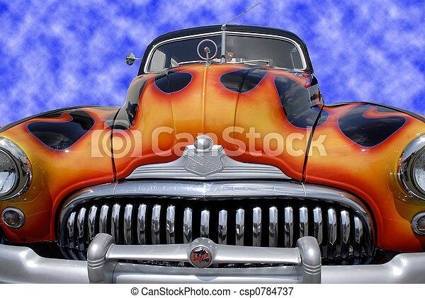 auto, classieke - csp0784737