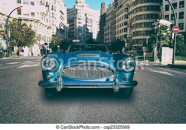 auto, classieke - csp23325569