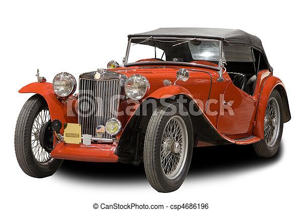 auto, classieke - csp4686196