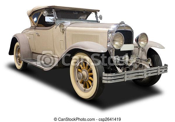 auto, classieke - csp2641419