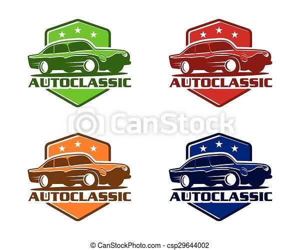 auto, classieke - csp29644002