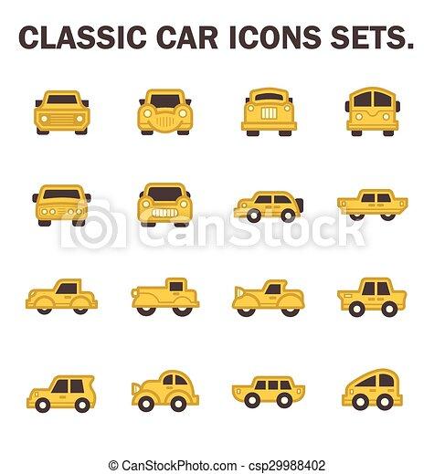 auto, classieke - csp29988402