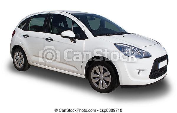 auto di dimensioni compatte, berlina compatta - csp8389718