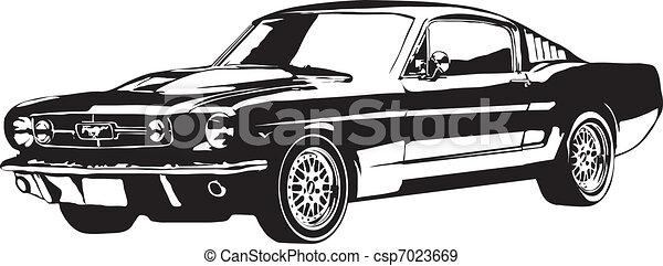 auto, gemaakt, eps - csp7023669