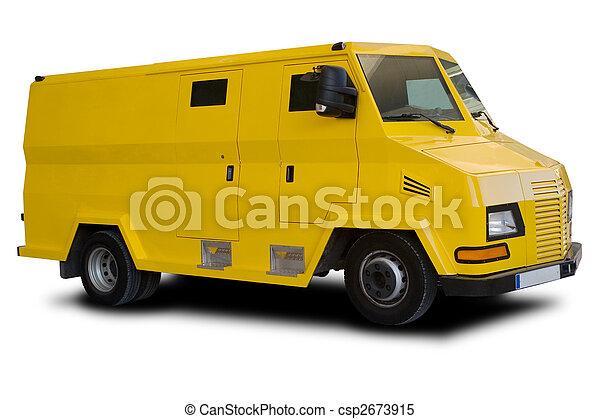 auto, gepanzert - csp2673915