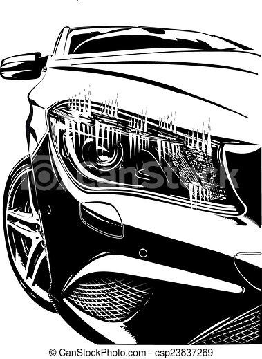 auto, germania - csp23837269