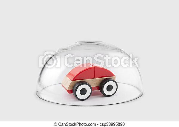 auto gesch tzt kuppel unter glas kinderauto kuppel glas gesch tzt unter rotes. Black Bedroom Furniture Sets. Home Design Ideas