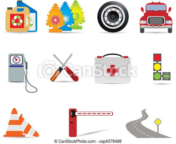 Auto icons - csp4378498