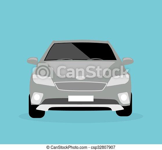 Auto, Ikone, Wohnung   Csp32807907