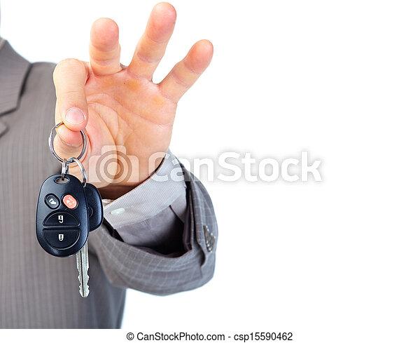 Autoschlüssel. - csp15590462