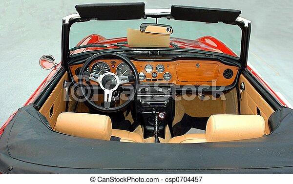 auto, klassischer sport - csp0704457