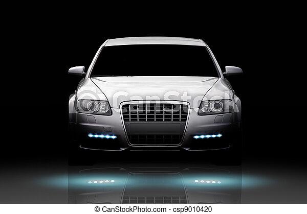 auto, luxus, freigestellt - csp9010420
