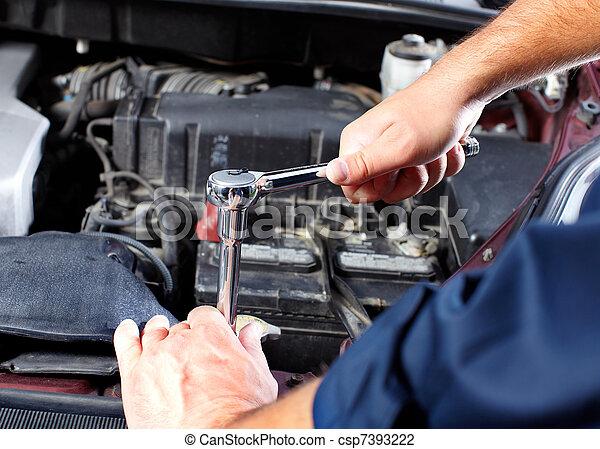 Auto mechanic - csp7393222
