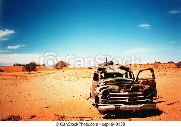 auto, oud - csp1940158